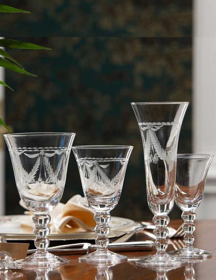 Cristalería de 3 nudos