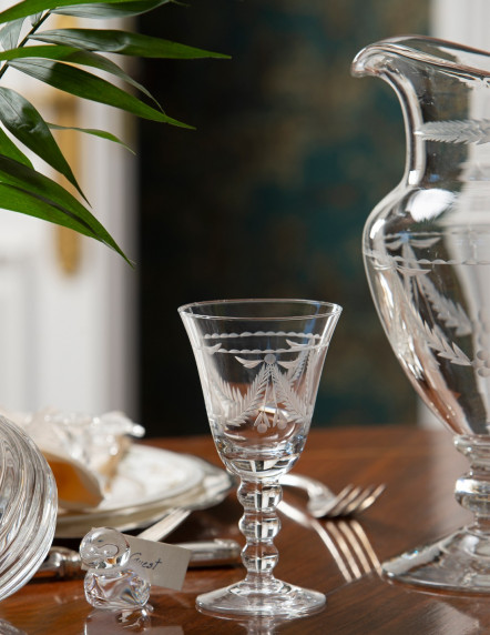 3 nudos Wine Glass